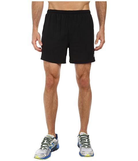 New Balance - Go Run 5 Short (Black) Men's Shorts