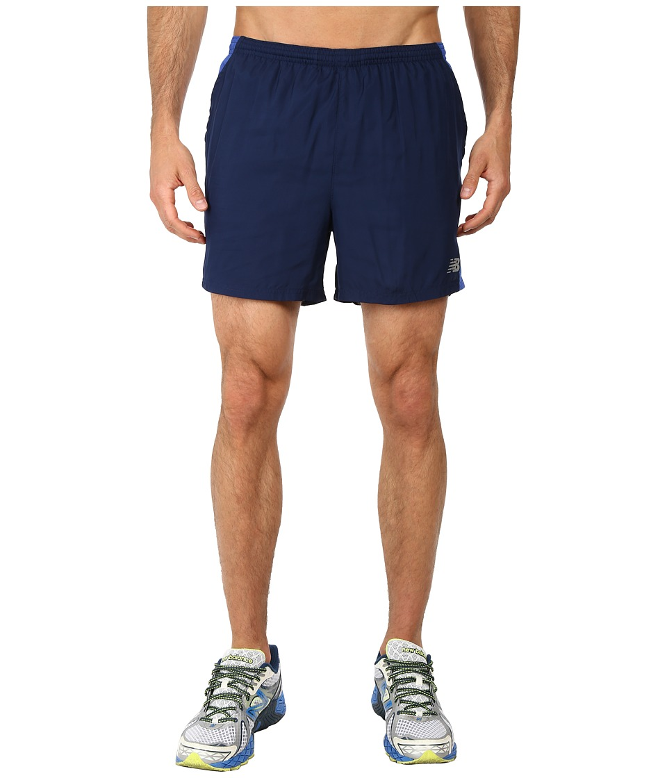 New Balance - Go Run 5 Short (Dark Sapphire) Men's Shorts