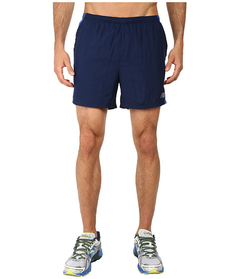 New Balance - Go Run 5 Short (Dark Sapphire) Men