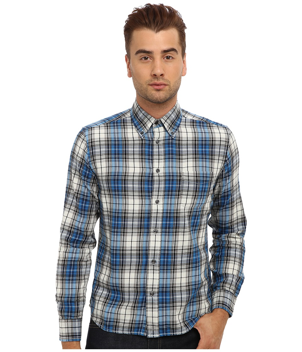 Diesel - S-Watis Shirt (Blue) Men's Clothing