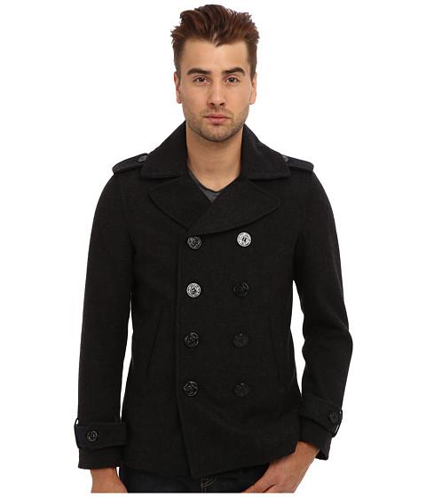 Diesel - W-Champ Jacket (Charcoal/Grey) Men's Coat