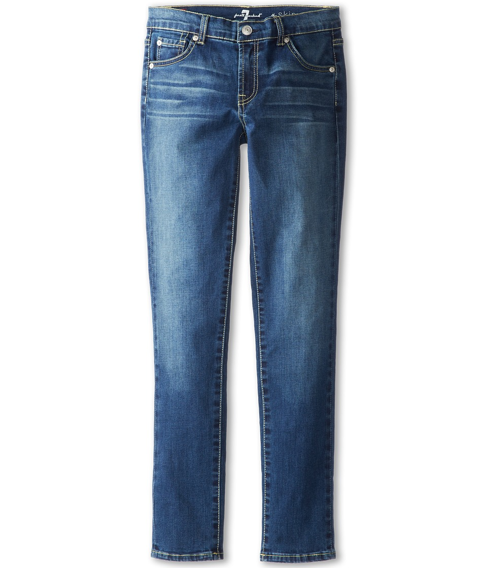 7 For All Mankind Kids - Skinny Jean in Nouveau New York Dark (Big Kids) (Nouvaeu New York Dark) Girl's Jeans