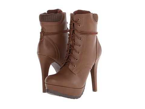 Call it SPRING - Glelawen (Cognac) Women's Lace-up Boots