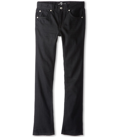 7 For All Mankind Kids - Slimmy Jean in Black Out (Big Kids) (Black Out) Boy's Jeans