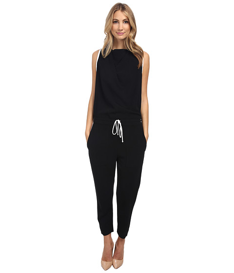 HELMUT LANG - Torsion Jumper (Black) Women's Jumpsuit & Rompers One Piece