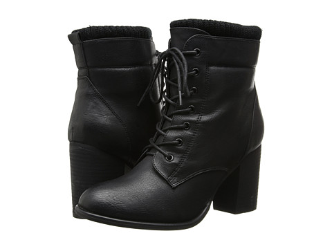 Call it SPRING - Madray (Black) Women's Lace-up Boots
