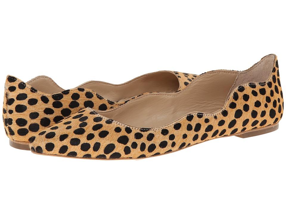 Loeffler Randall - Milla (Cheetah) Women's Dress Flat Shoes