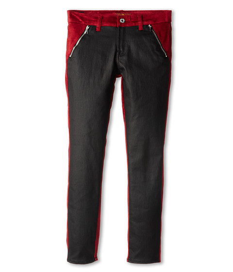7 For All Mankind Kids - Skinny Jean in Fisherman Red (Big Kids) (Fisherman Red) Girl