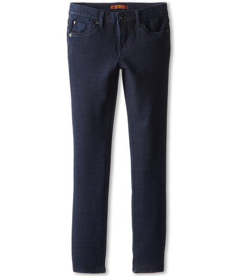 7 For All Mankind Kids - Skinny Jean in Indigo Ponte Knit (Big Kids) (Indigo Ponte Knit) Girl's Jeans