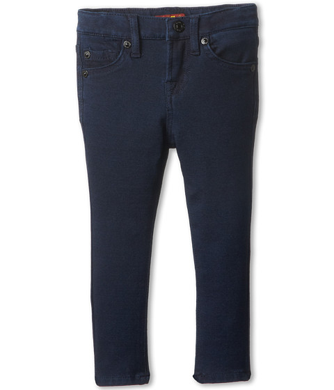 7 For All Mankind Kids - Skinny Jean in Indigo Ponte Knit (Toddler) (Indigo Ponte Knit) Girl's Jeans
