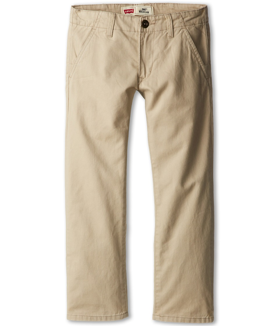 Levi's(r) Kids - 505tm Regular Fit Chino (Big Kids) (Plaza Taupe) Boy's Casual Pants