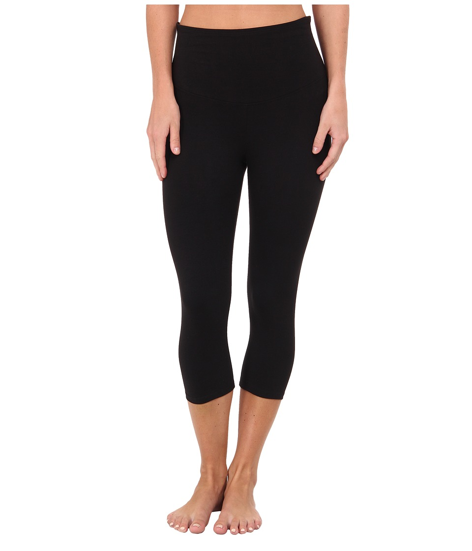 Yummie by Heather Thomson - Jocelyn Capri Legging (Black) Women's Casual Pants