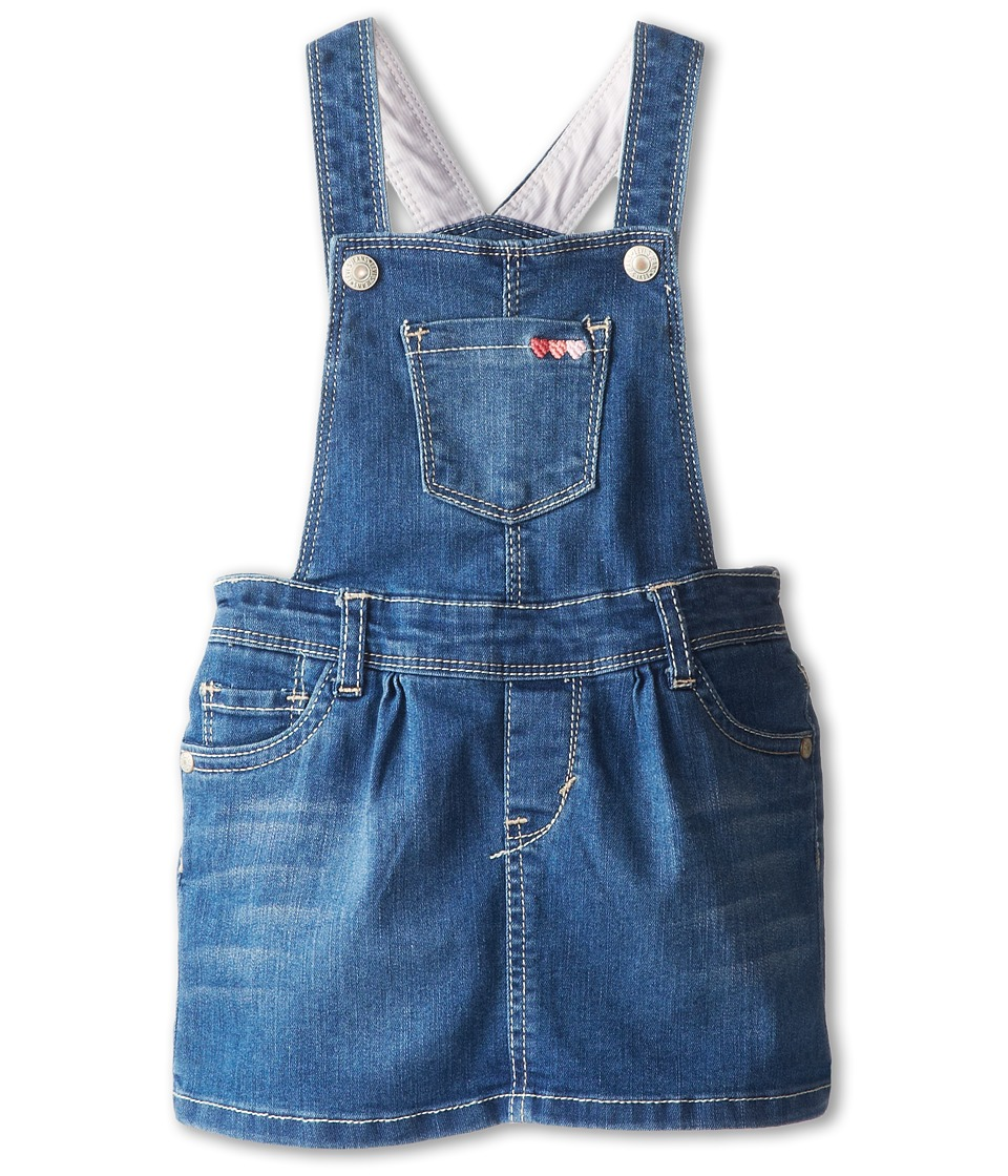 Levi's(r) Kids - Piper Denim Jumper (Infant) (Iced Blue) Girl's Jumpsuit & Rompers One Piece