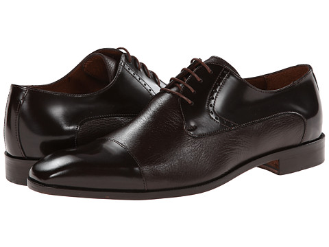 Massimo Matteo - 4-Eye Deer Cap Toe (Brown) Men