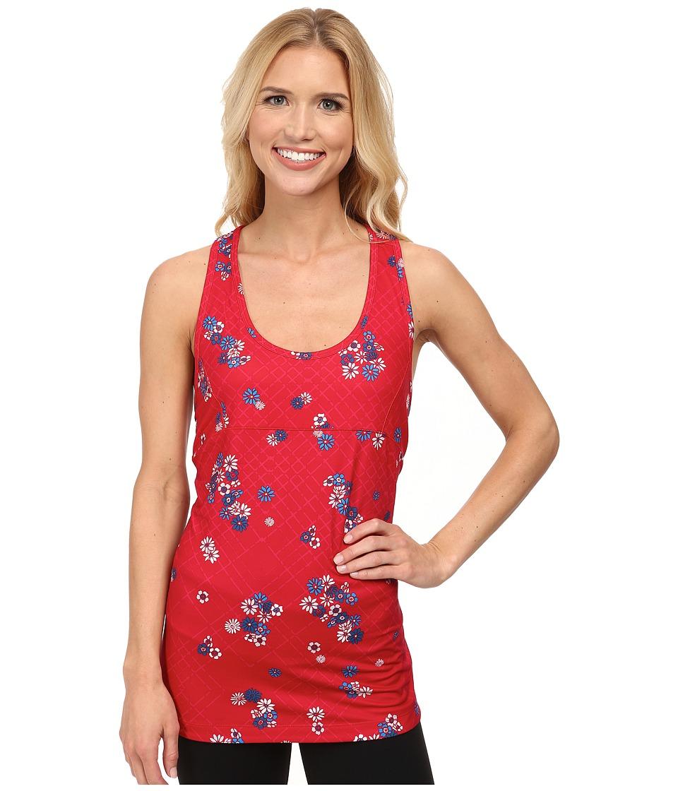 Lole - Danica Tank Top (Chillies Flower Grid) Women's Sleeveless