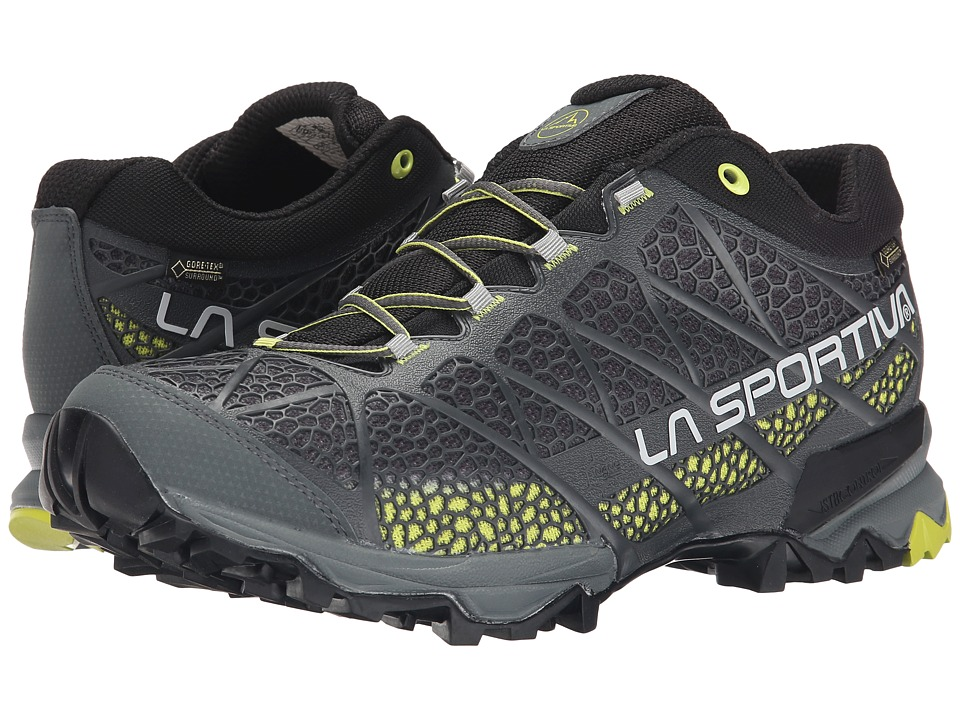 La Sportiva - Primer Low GTX (Light Grey/Green Gecko) Men's Shoes