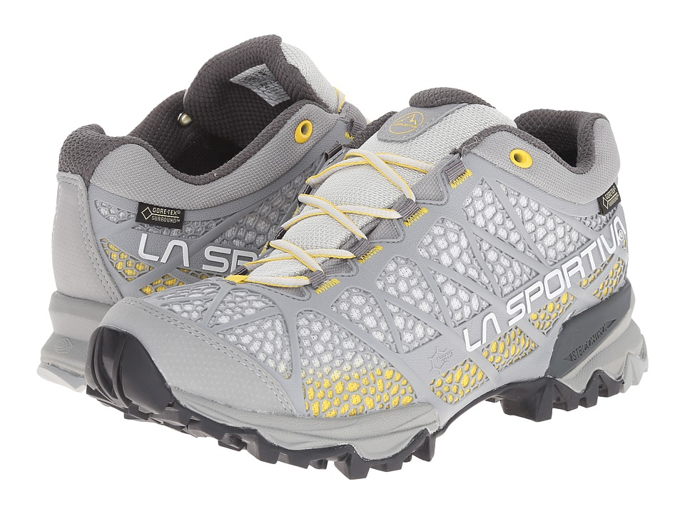 La Sportiva - Primer Low GTX (Yellow/Mid Grey) Women's Shoes