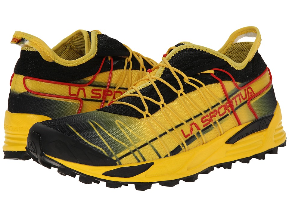 La Sportiva - Mutant (Black/Yellow) Men's Shoes