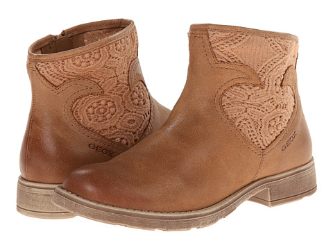 Geox Kids - Jr Sofia 22 (Big Kid) (Whiskey) Girls Shoes