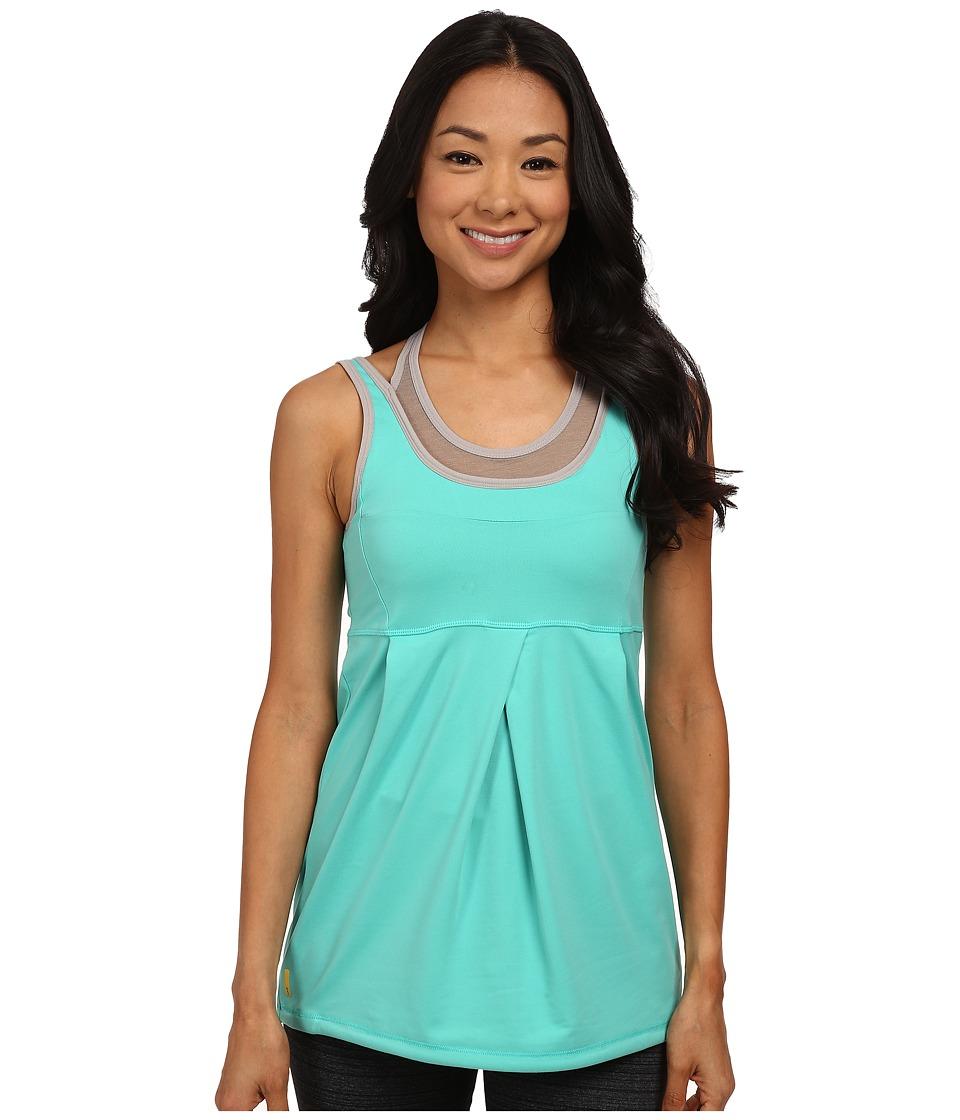 Lole - Ella Tank Top (Turquoise) Women's Sleeveless
