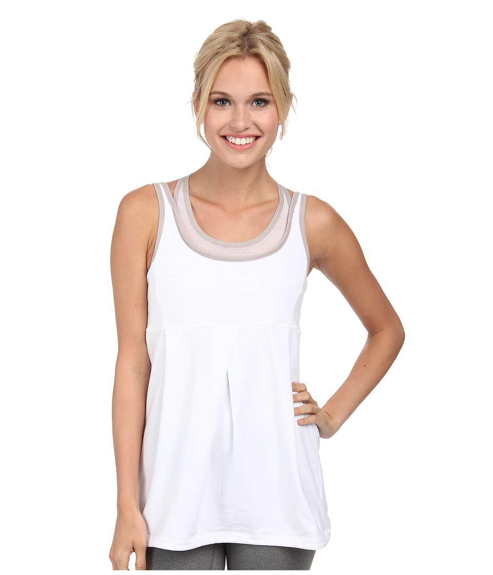 Lole - Ella Tank Top (White) Women's Sleeveless