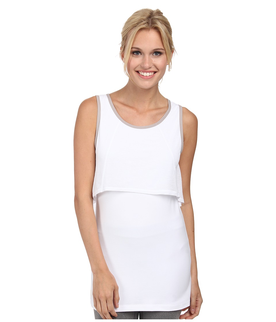 Lole - Nadine Tank (White) Women's Sleeveless