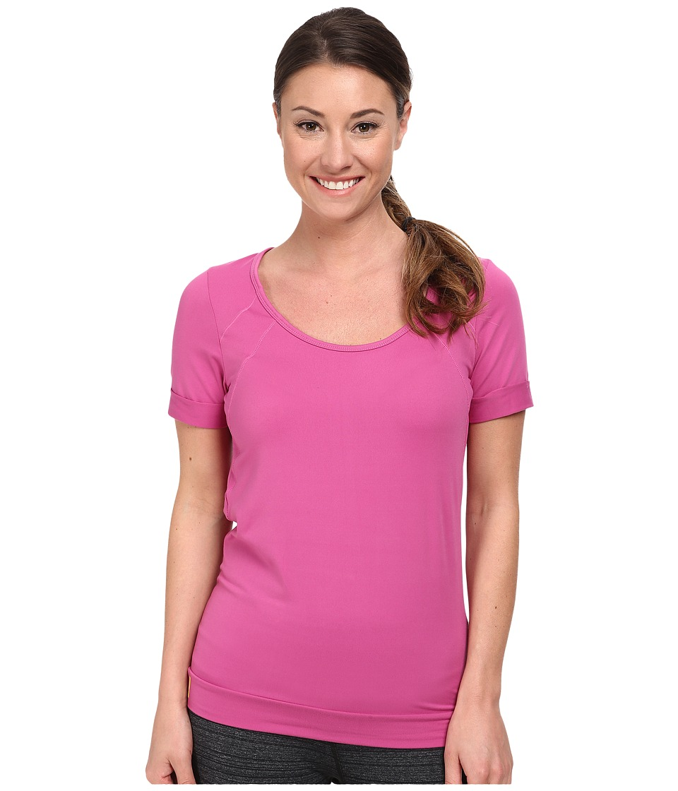 Lole - Kai Top (Dahlia) Women's Short Sleeve Pullover
