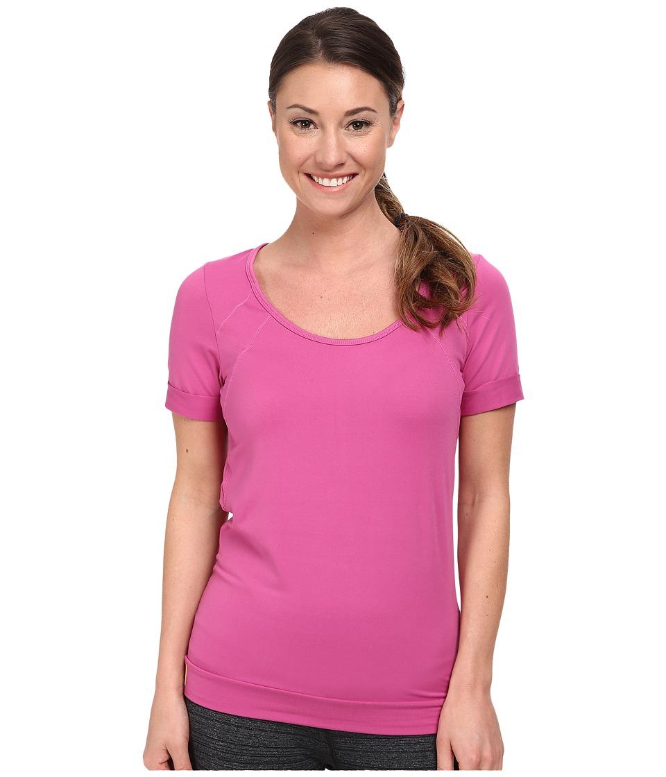 Lole - Kai Top (Dahlia) Women's Short Sleeve Pullover