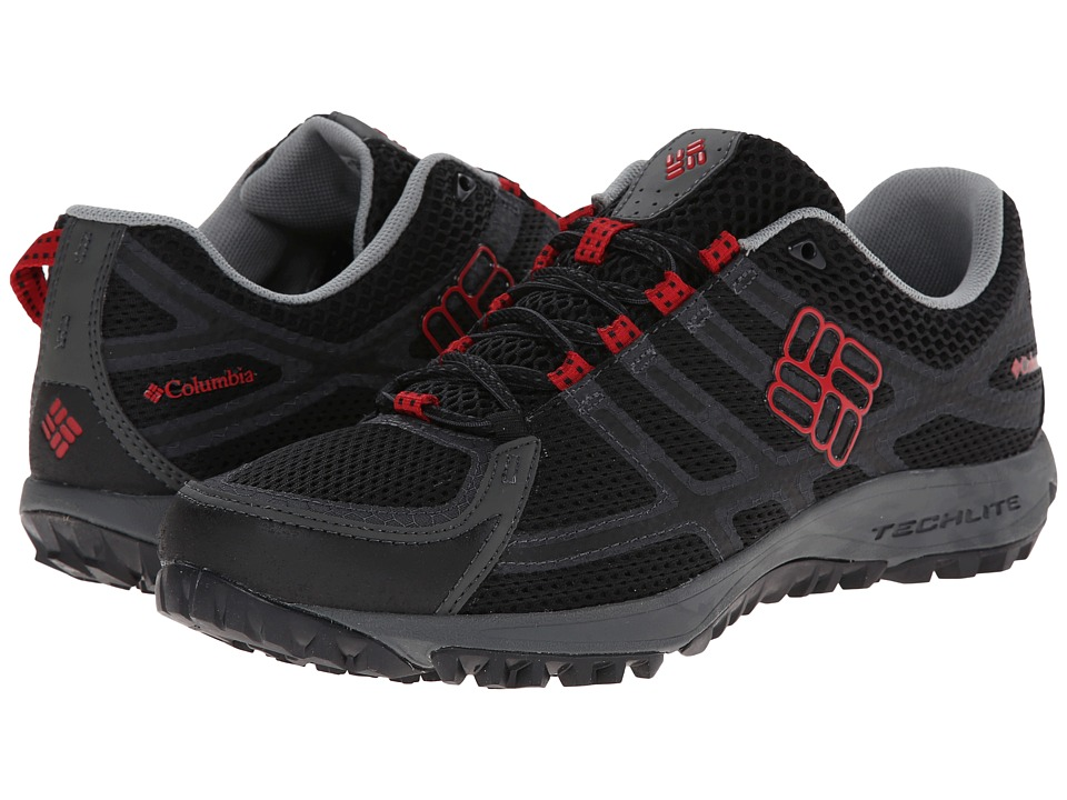 Columbia - Conspiracy III (Black/Intense Red) Men's Shoes