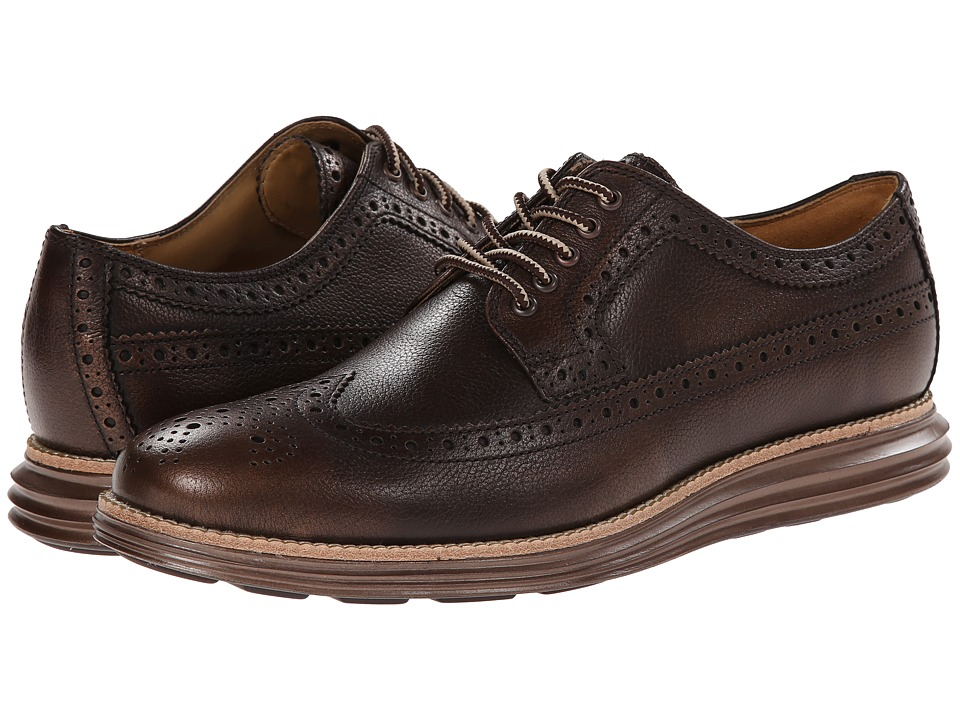 Cole Haan - Lunargrand Long Wing (Bronze Brush Off) Men