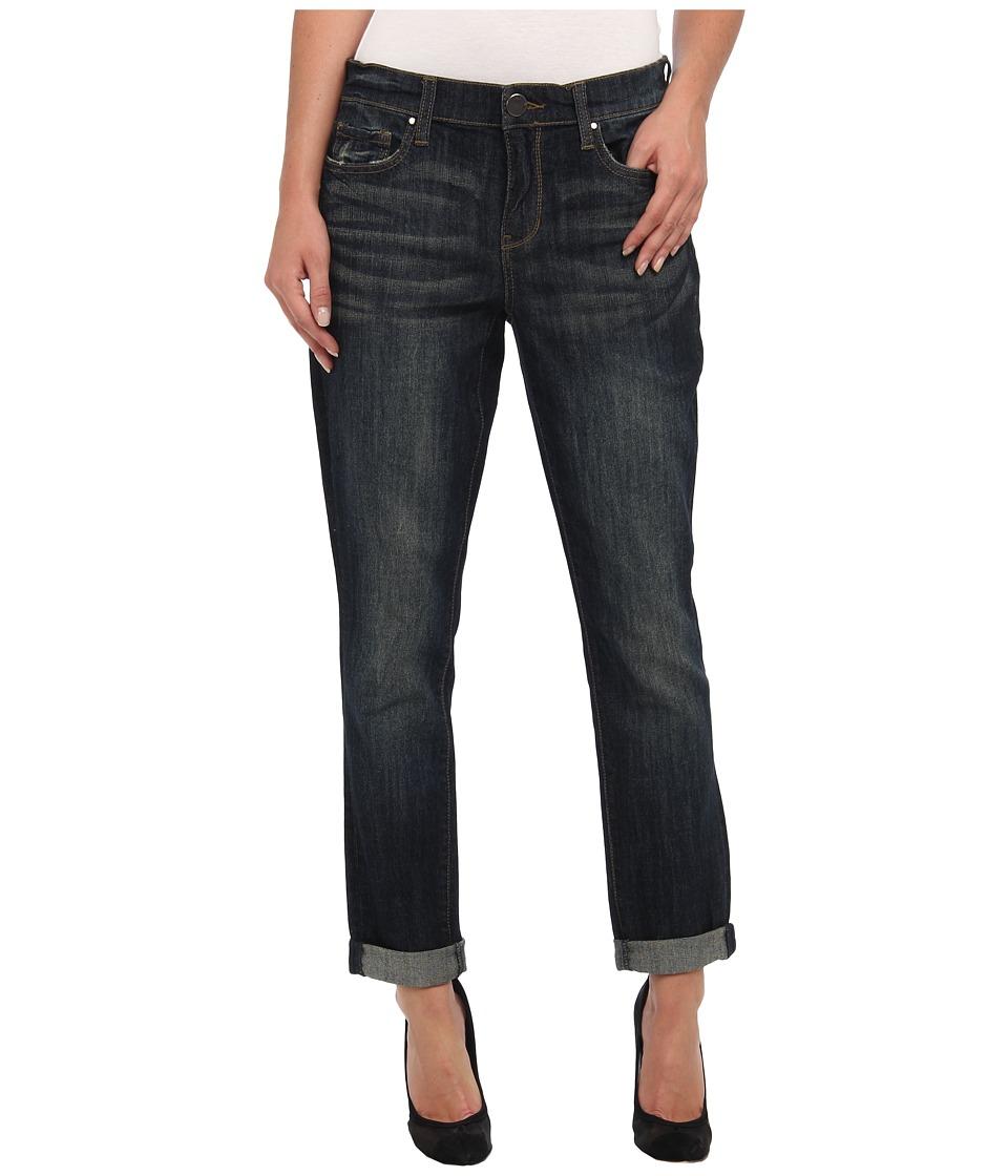 DKNY Jeans - Rolled Bleecker Boyfriend Jean in Arlington Wash (Arlington Wash) Women