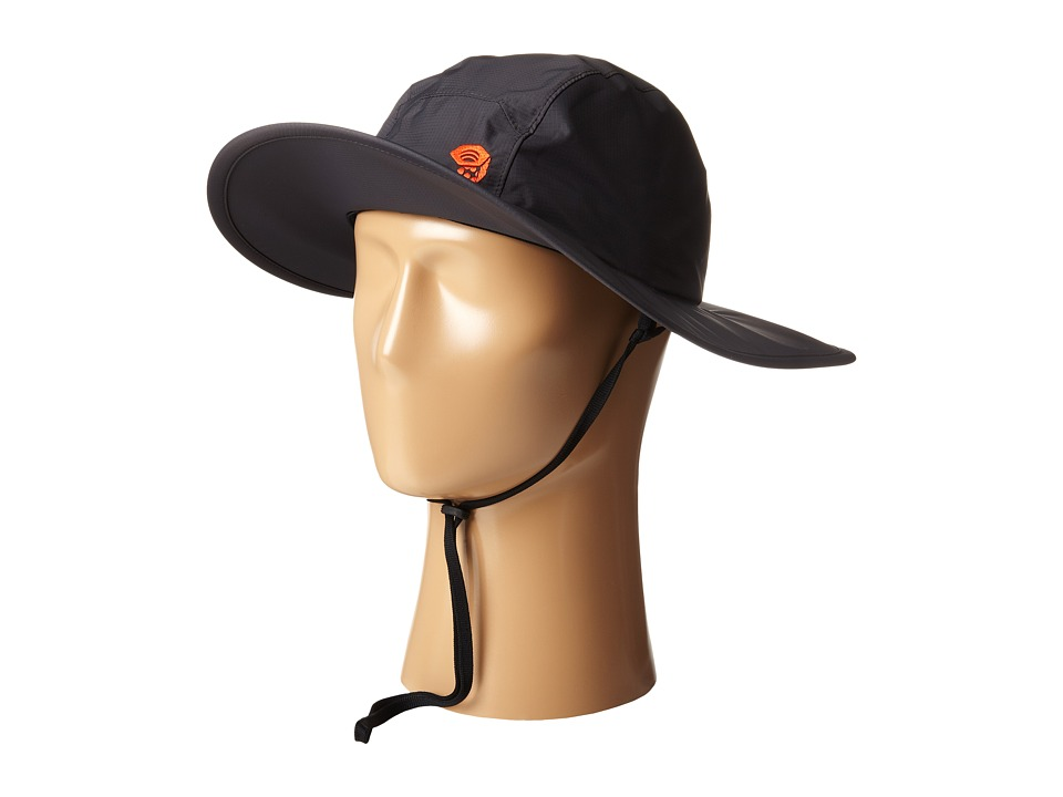 Mountain Hardwear - Plasmic EVAP Wide Brim Hat (Shark/State Orange) Safari Hats