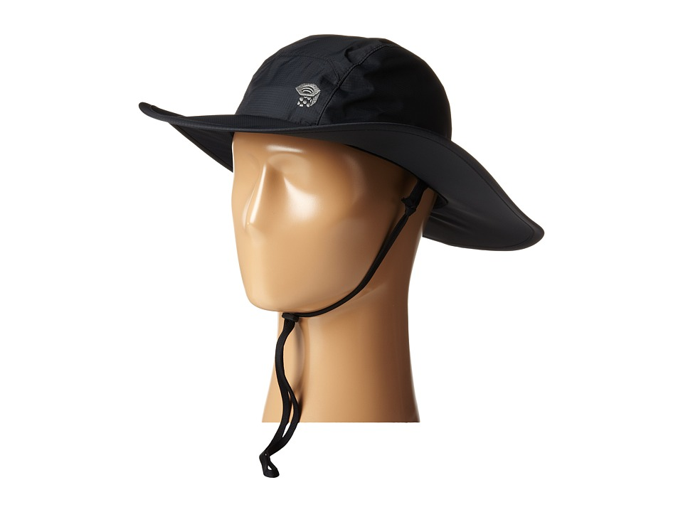 Mountain Hardwear - Plasmic EVAP Wide Brim Hat (Black) Safari Hats