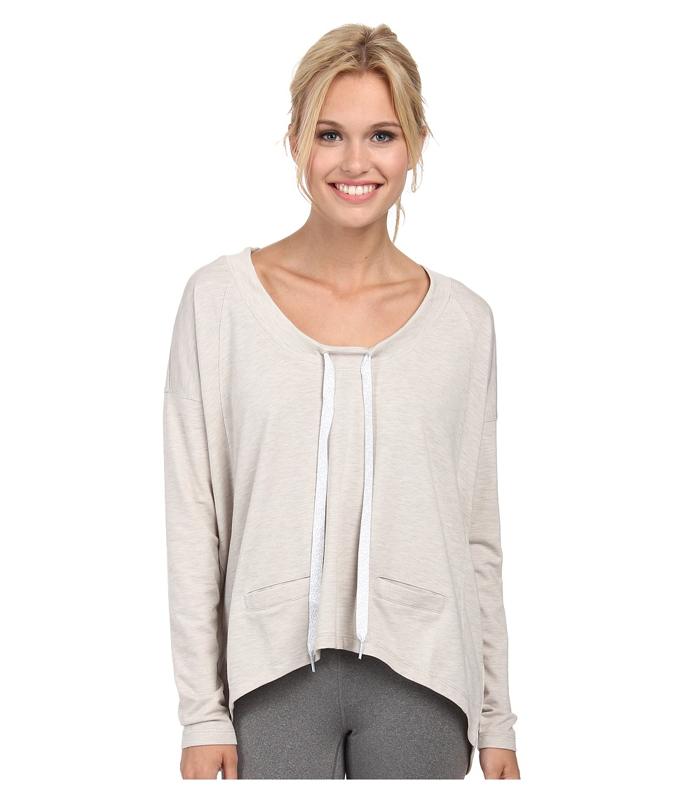 Lole - Bala Top (Morel Heather) Women's Long Sleeve Pullover