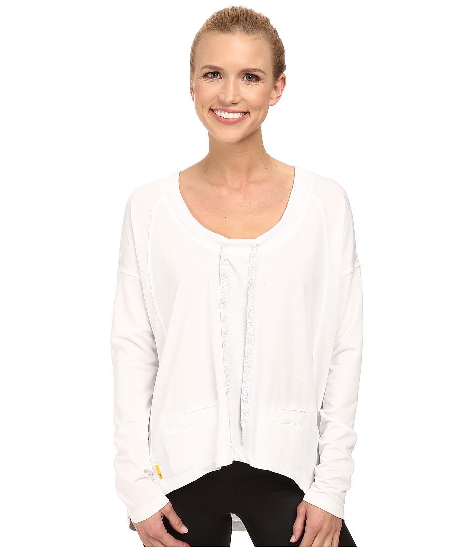 Lole - Bala Top (White) Women's Long Sleeve Pullover