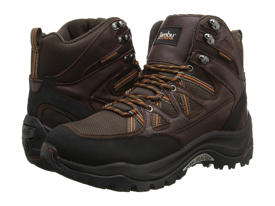 Jambu - Flex Climber (Brown/Burnt Orange) Men's Shoes