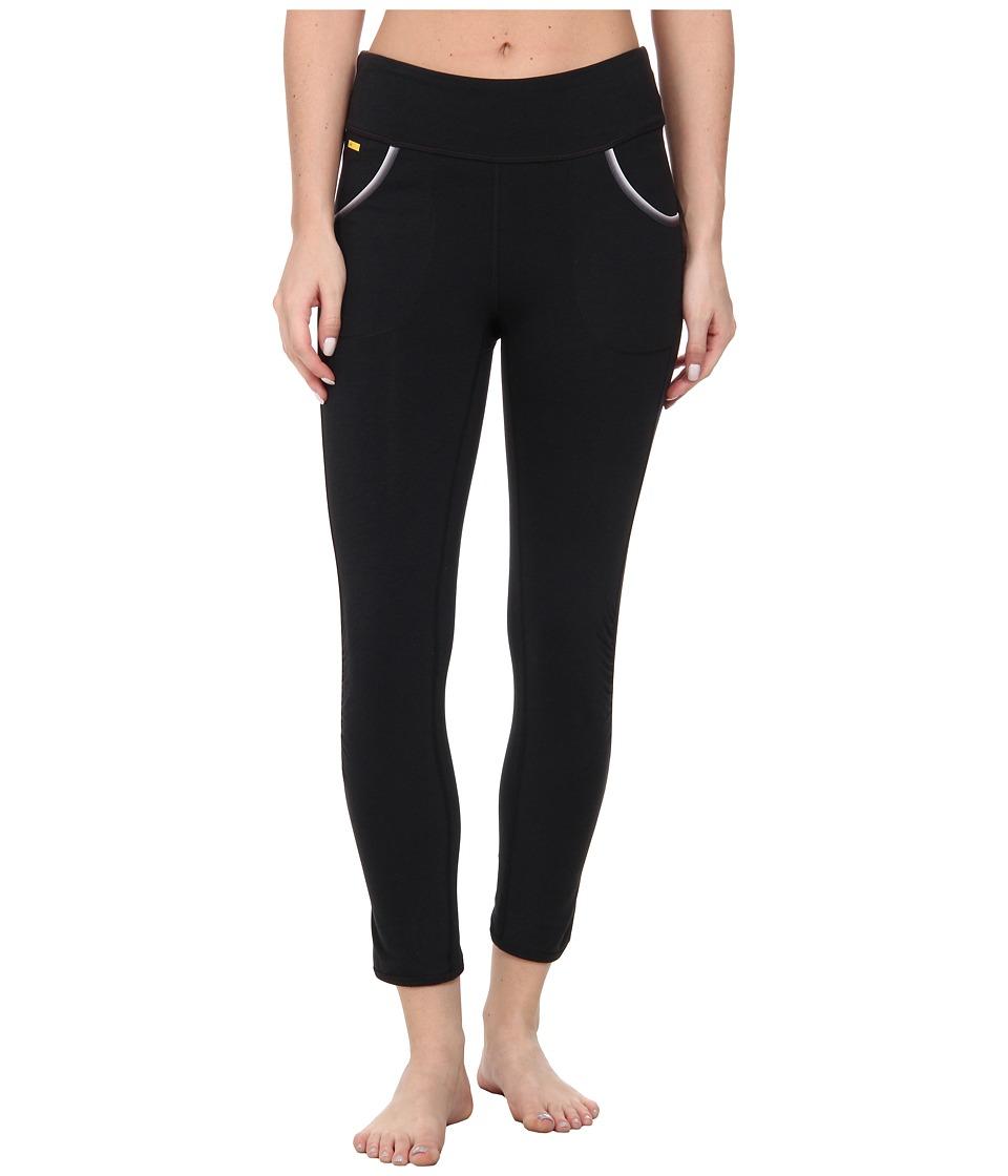 Lole - Shiva Capri (Black) Women's Workout