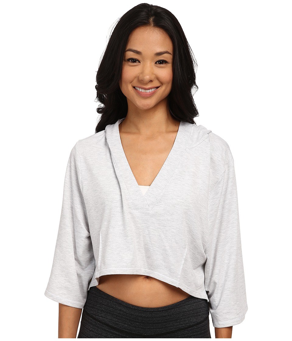 Lole - Peppermint Top (White) Women's Long Sleeve Pullover