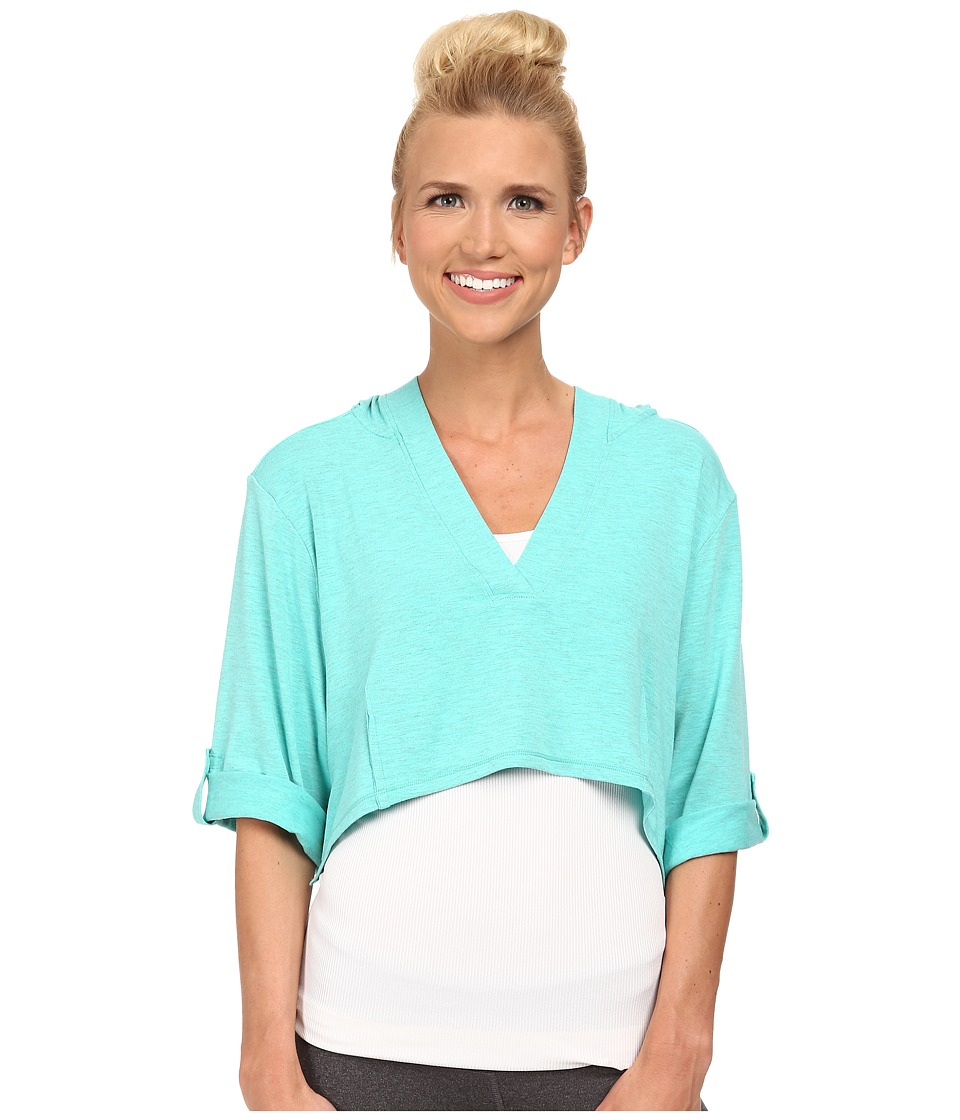 Lole - Peppermint Top (Turquoise) Women's Long Sleeve Pullover