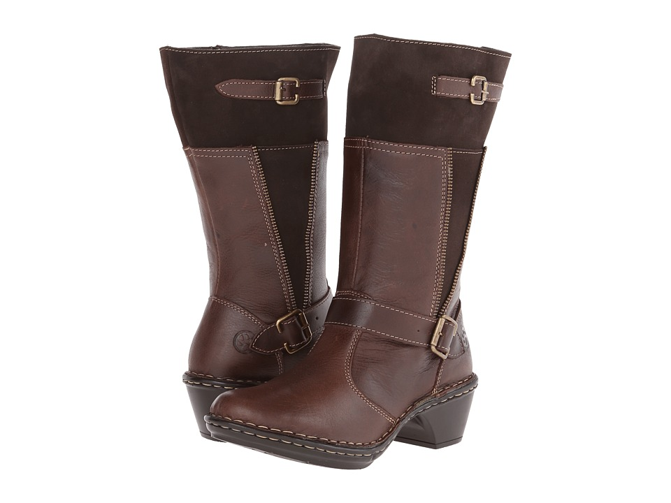 Lobo Solo - Rioja Wide Calf (Chocolate Leather) Women's Wide Shaft Boots