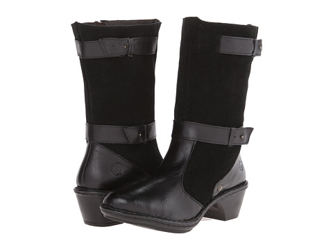 Lobo Solo - Rose Wide Calf (Black Leather) Women's Wide Shaft Boots