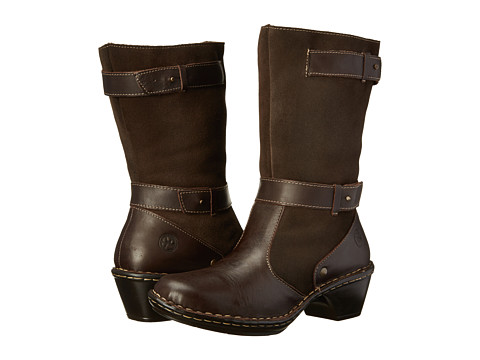 Lobo Solo - Rose Wide Calf (Chocolate Leather) Women's Wide Shaft Boots