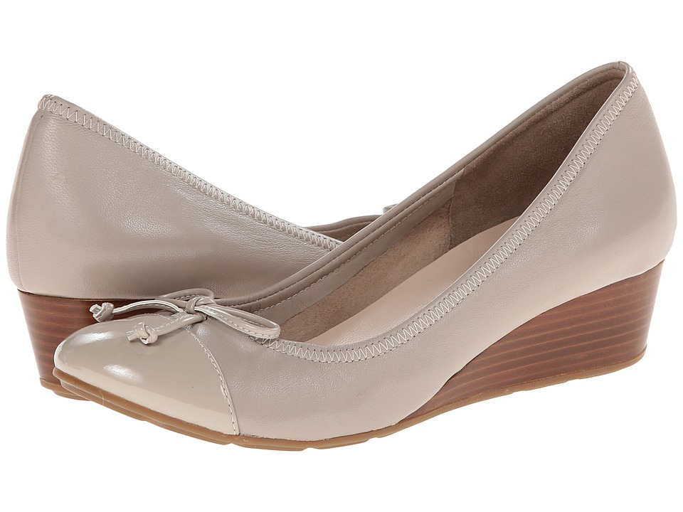 Cole Haan - Tali Lace Wedge (Twine/Patent) Women's Wedge Shoes