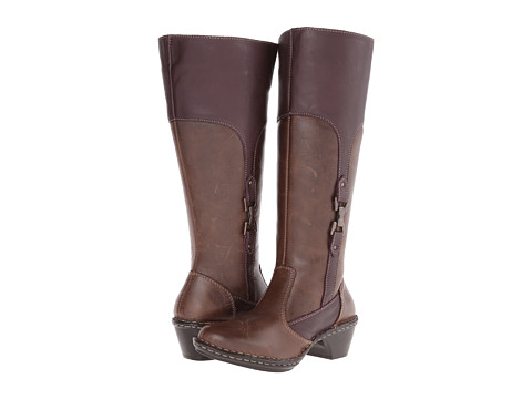 Lobo Solo - Robin Wide Calf (Chocolate Leather) Women's Wide Shaft Boots