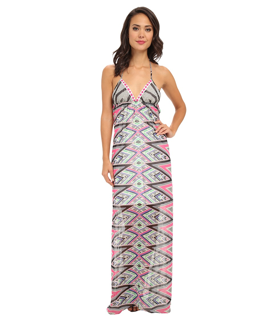 KAS New York - Bena Maxi Dress (Abstract Print) Women