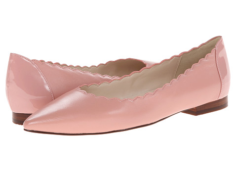 Cole Haan - Alice Skimmer (Peony/Patent) Women's Dress Flat Shoes