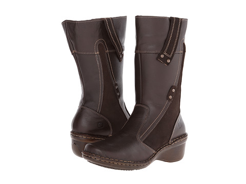 Lobo Solo - Suzy Wide Calf (Cafe Leather) Women's Wide Shaft Boots