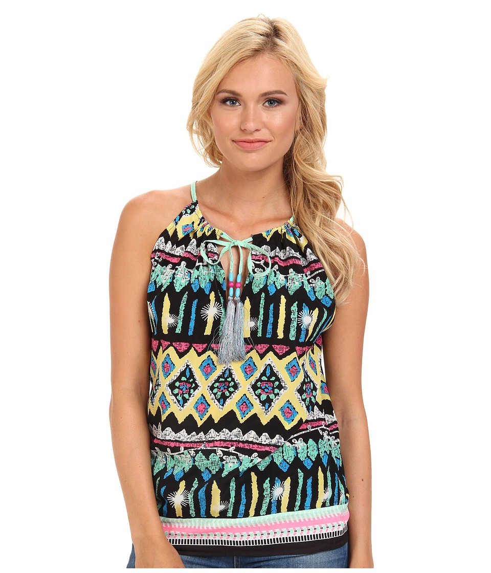 KAS New York - Kay Print Tank (Multi) Women's Sleeveless