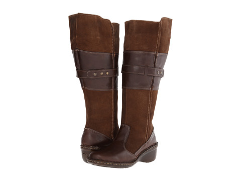 Lobo Solo - Shery Wide Calf (Dark Brown Leather) Women's Zip Boots