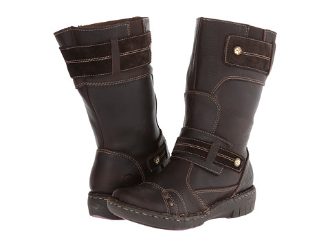 Lobo Solo - Isabella Wide Calf (Brown Leather) Women's Zip Boots